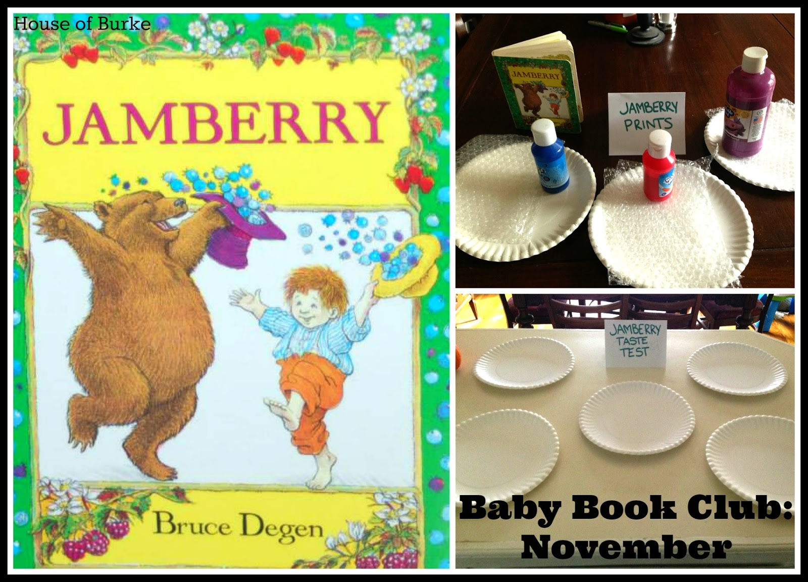 House Of Burke Baby Book Club November Jamberry