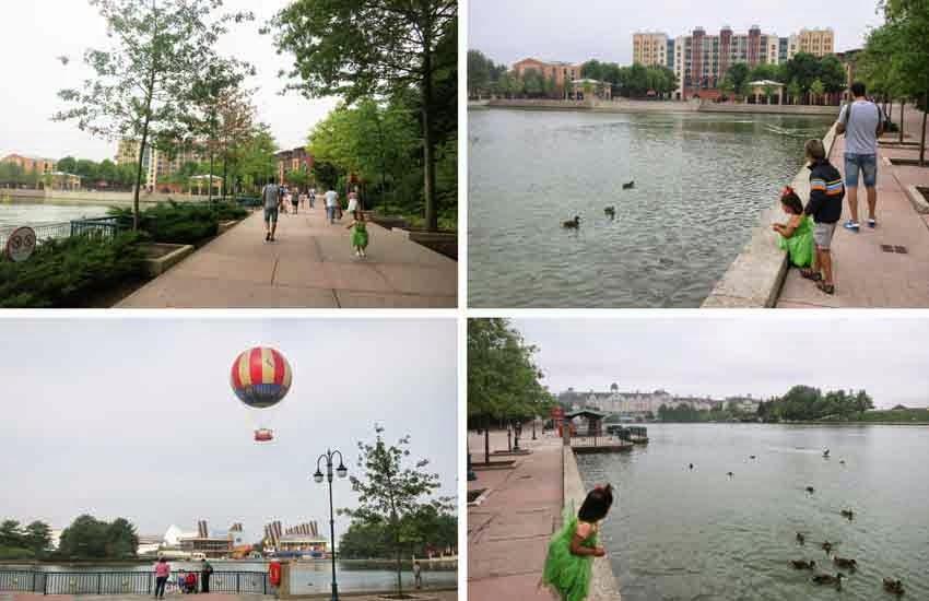 Trucos Disney - Ir al andando a los parques