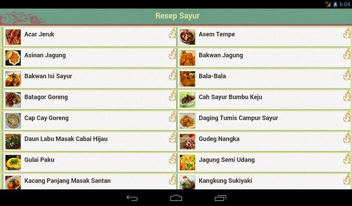 Aplikasi Resep Masakan Indonesia