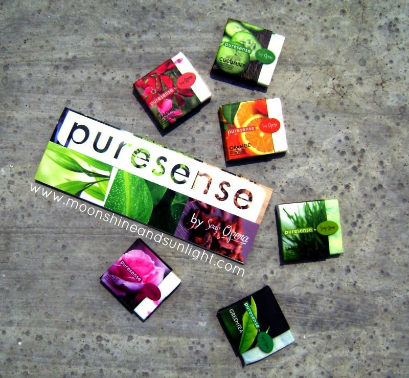 Puresense by Soap Opera || Paraben and Sulphate free soaps