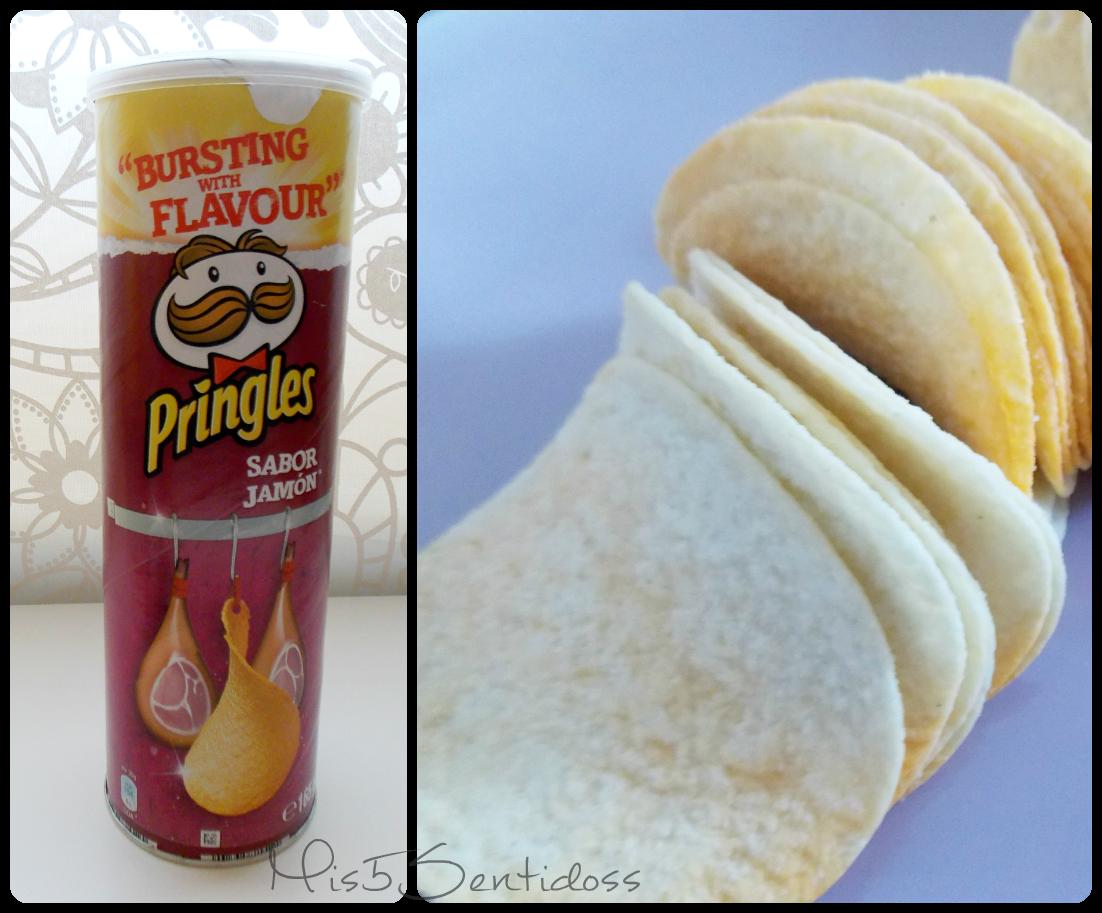 Caja Degustabox Septiembre 2014 Pringles Jamón