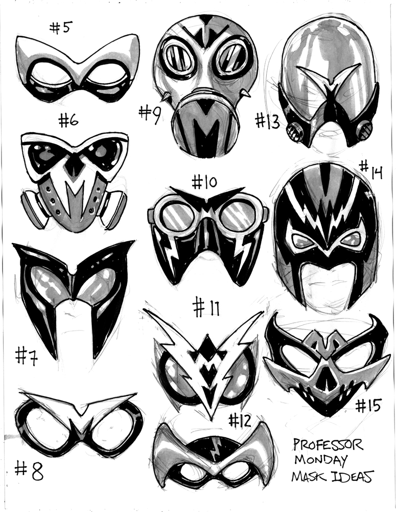 Gallery For gt Cool Superhero Mask Ideas