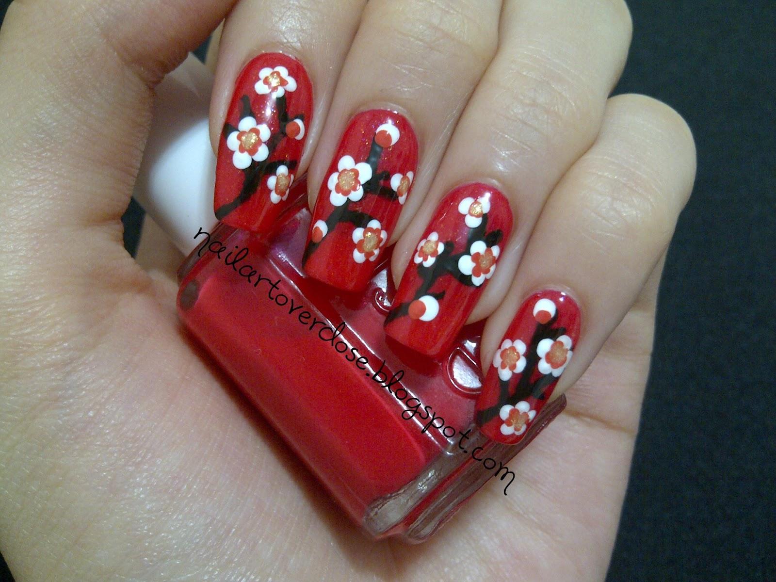 Chinese New Year Nail Art Design - Nails Gallery