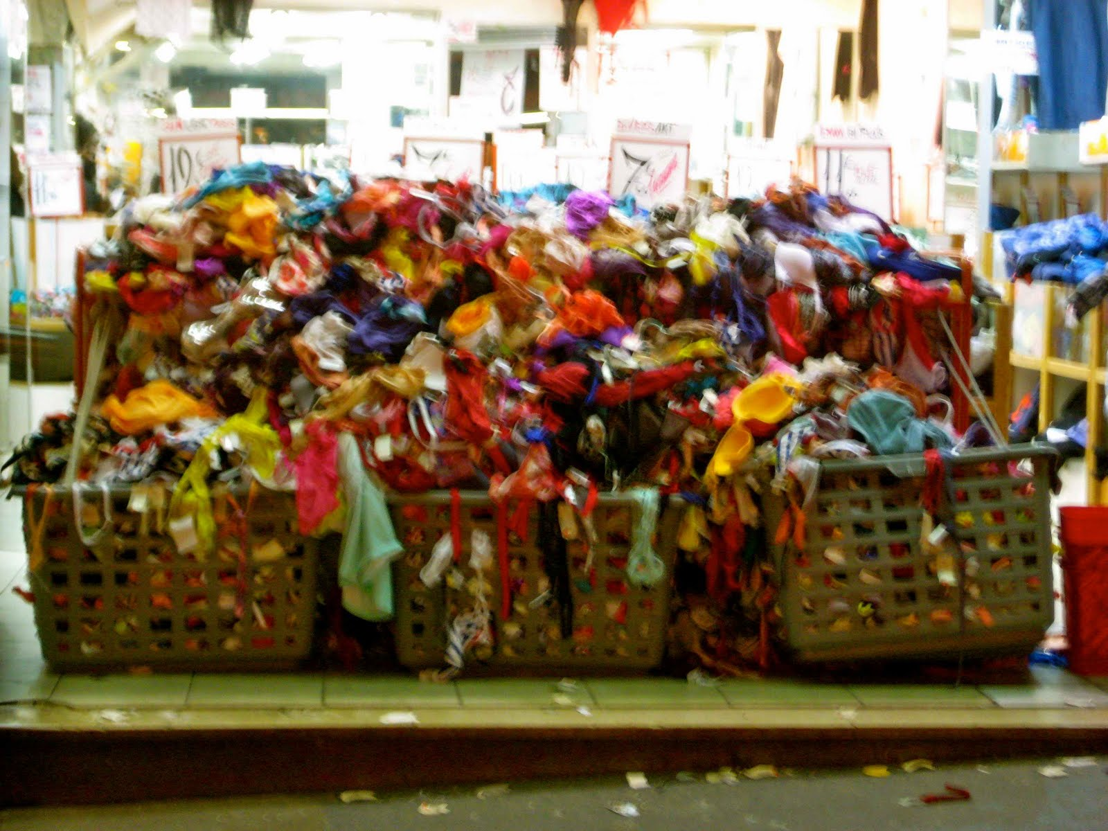Get Organized clothing pile