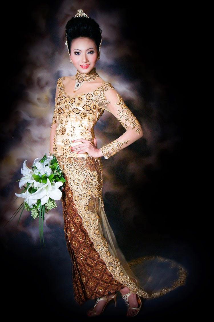 Foto Model Baju Kebaya Pengantin Jawa Modern