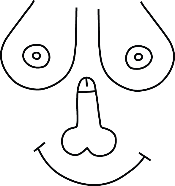 Line Drawing Of Happy Face : Alan heighton inside the lines smiley face