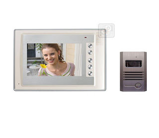 Увеличить SY-803+D9A-white 1/1 - комплект видео домофона (1 монитор)