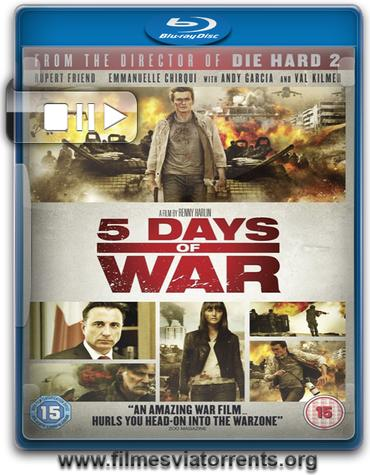 5 Dias de Guerra Torrent - BluRay Rip 720p Dublado
