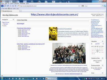 Septiembre /12 . Preventores 2012 : Ya está en el aula virtual la  GUIA para la presentación final