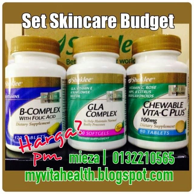 Set Skincare Budget Shaklee