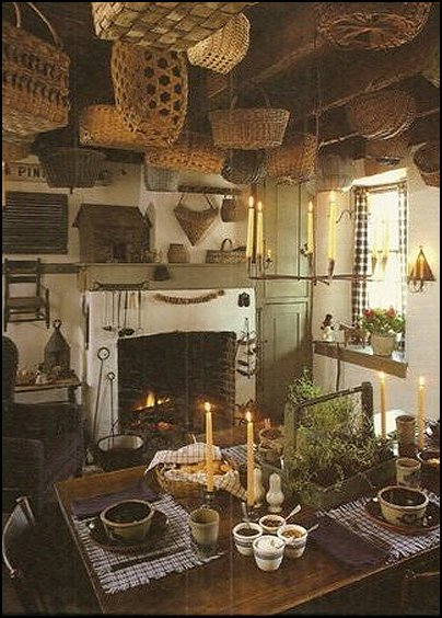 Decorating theme bedrooms Maries Manor primitive americana decorating styl