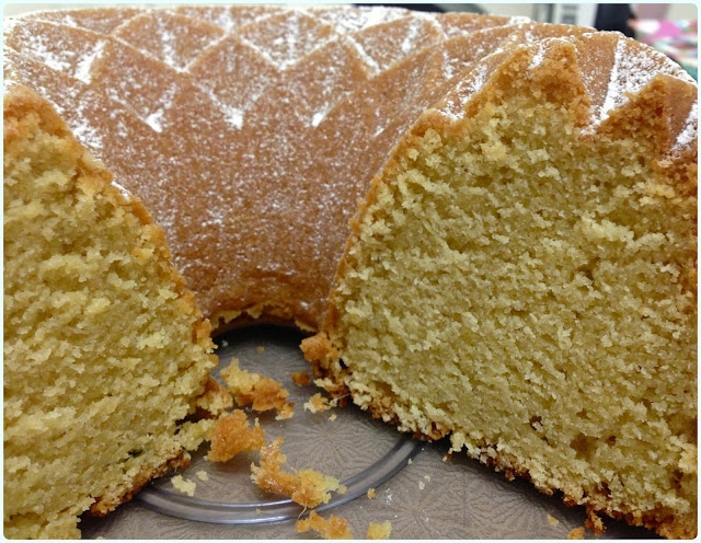 Mango and Passionfruit Bundt Cake