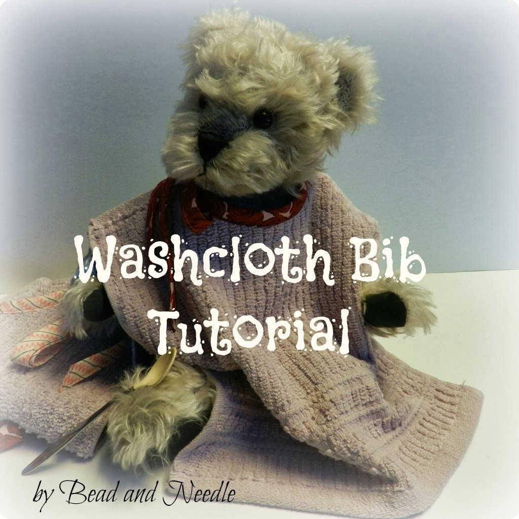 WASHCLOTH BIB TUTORIAL