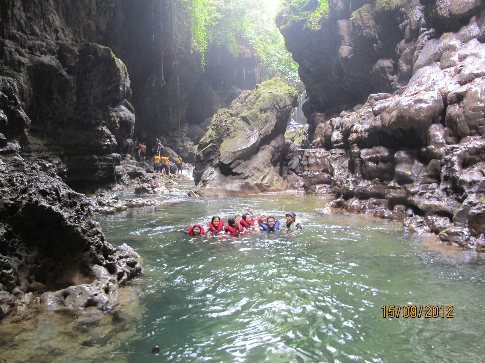"""Cukang Taneuh"" Green Canyon Nya Indonesia"