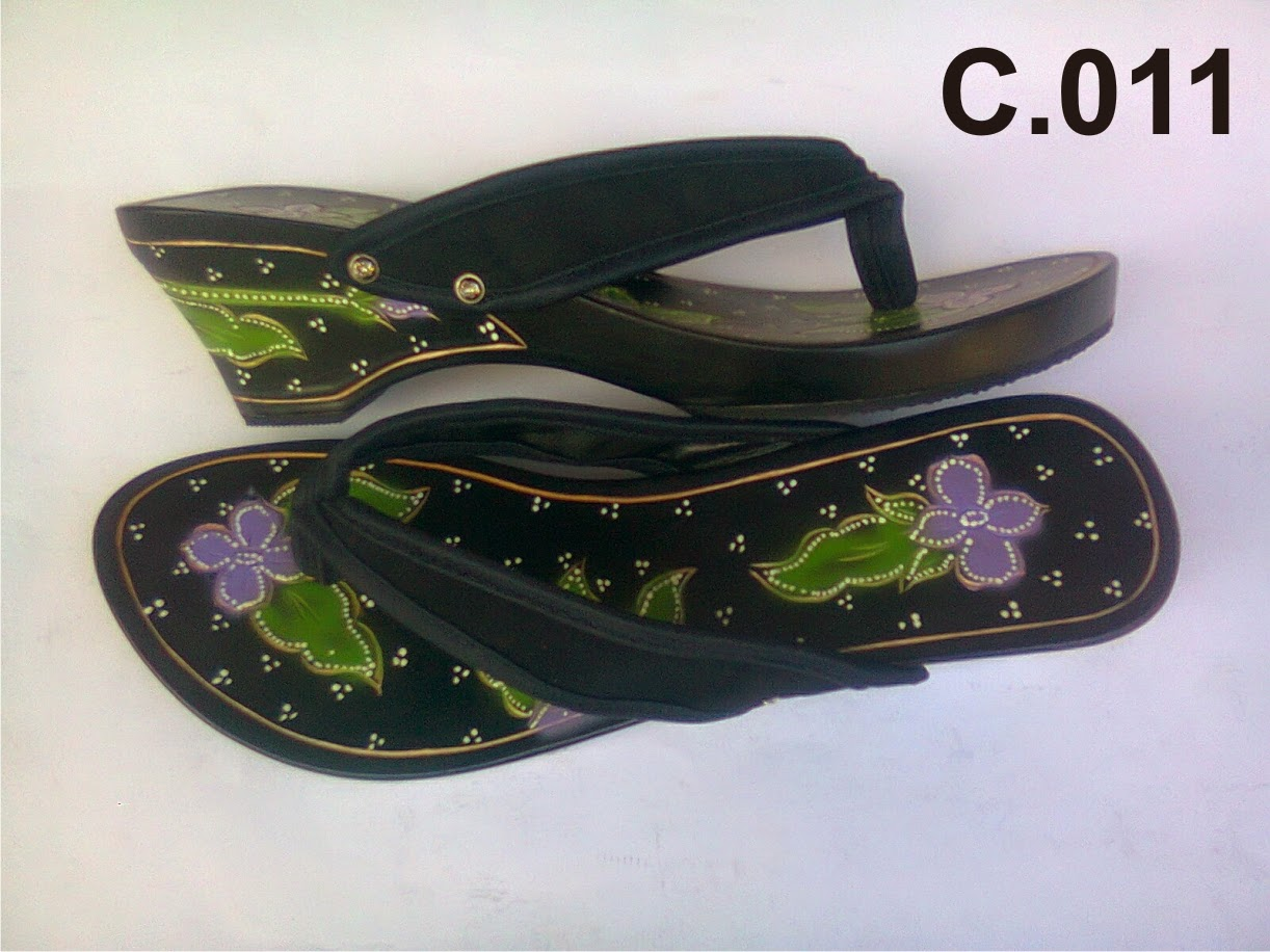 Sandal Wanita Import Kelom Geulis Tasikmalaya