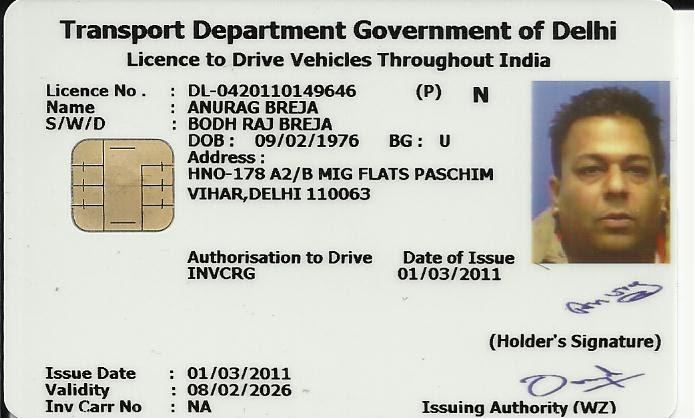 accessible india  driving license for people with disabilities by anurag breja
