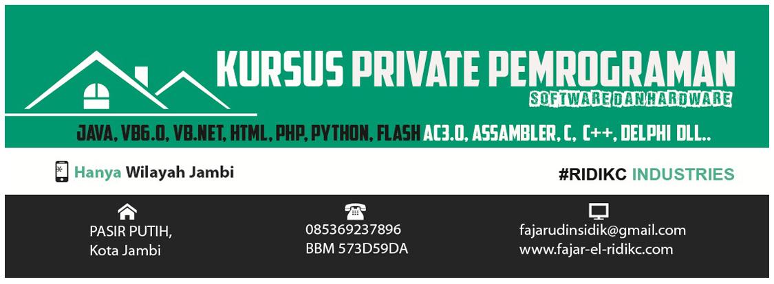 Kursus Private Pemrograman