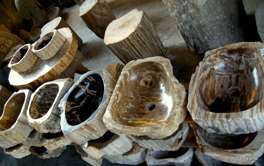 Polished petrified wood stools fossil wood tables slabs tile