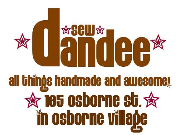 Sew Dandee- For All Things Handmade & Awesome!