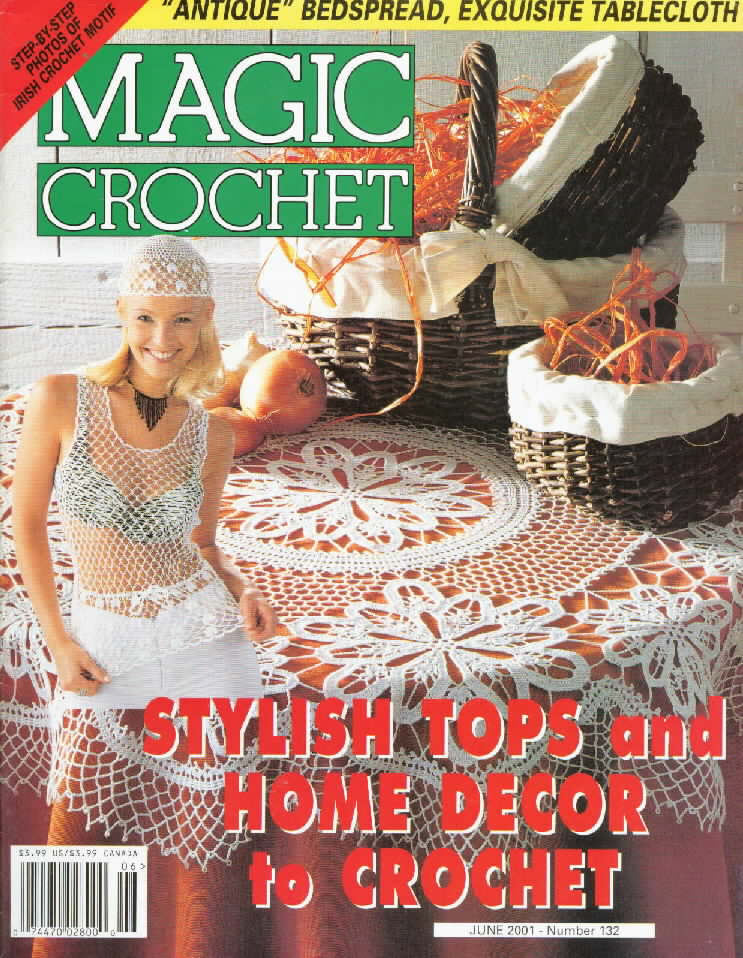 Free Crochet Magazine Subscriptions : Magic Crochet No. 132 ~ Free Crochet Patterns