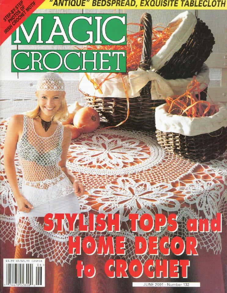 Magic Crochet No. 132 ~ Free Crochet Patterns