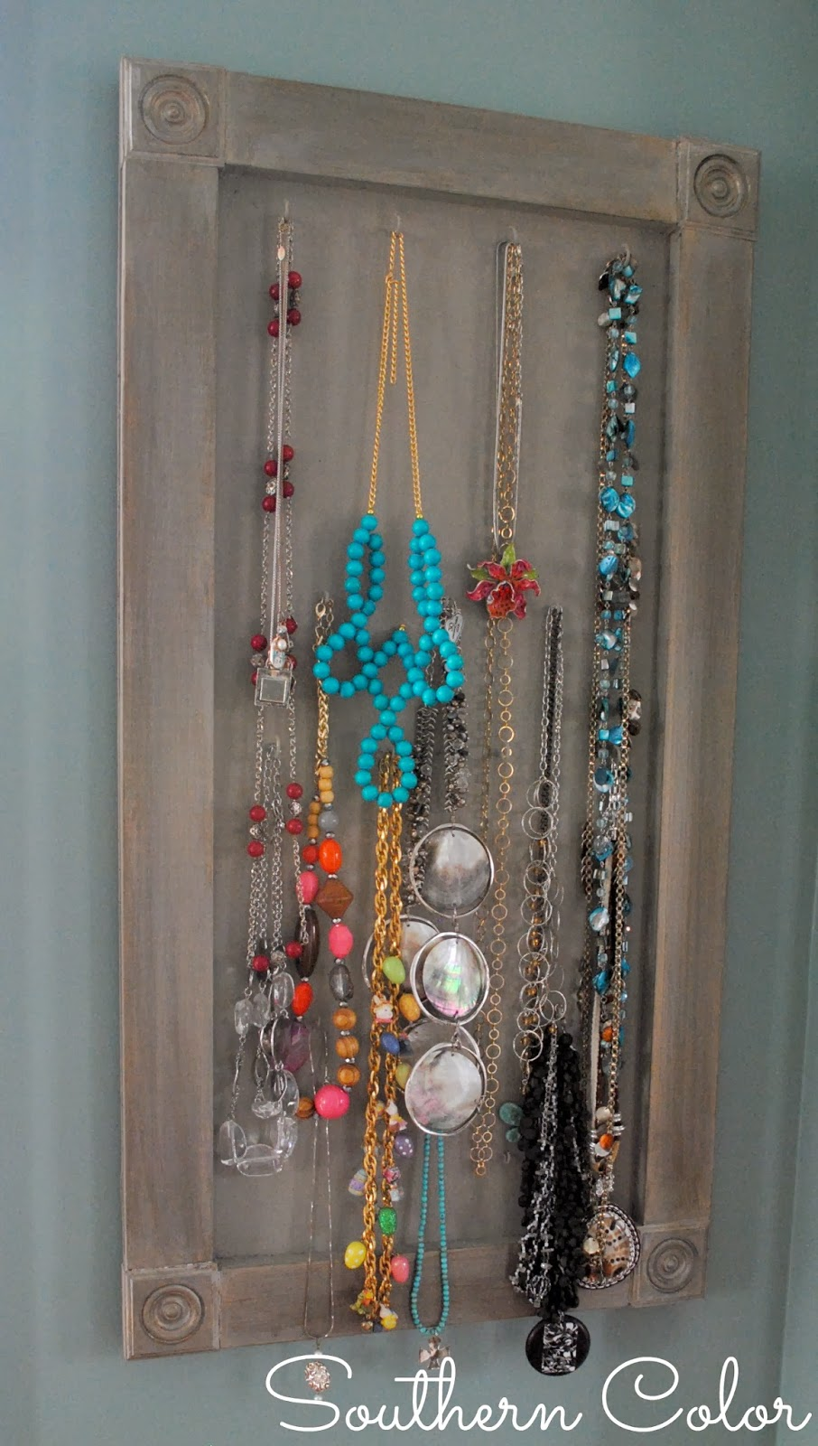 Southern color build your own jewelry display board for Jewelry displays