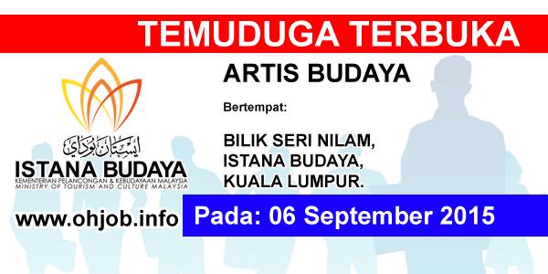 Jawatan Kerja Kosong Istana Budaya logo www.ohjob.info september 2015