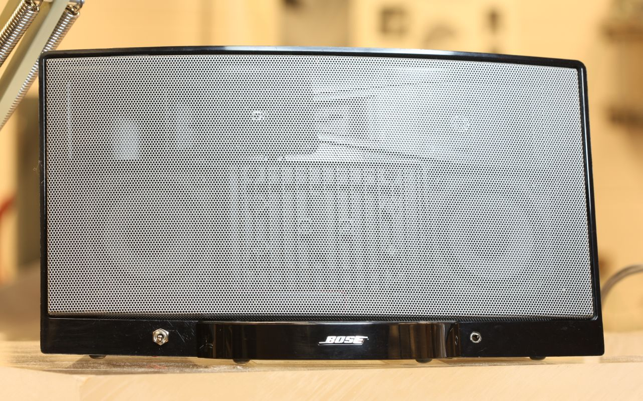 how to set up bose speakers to use ipod