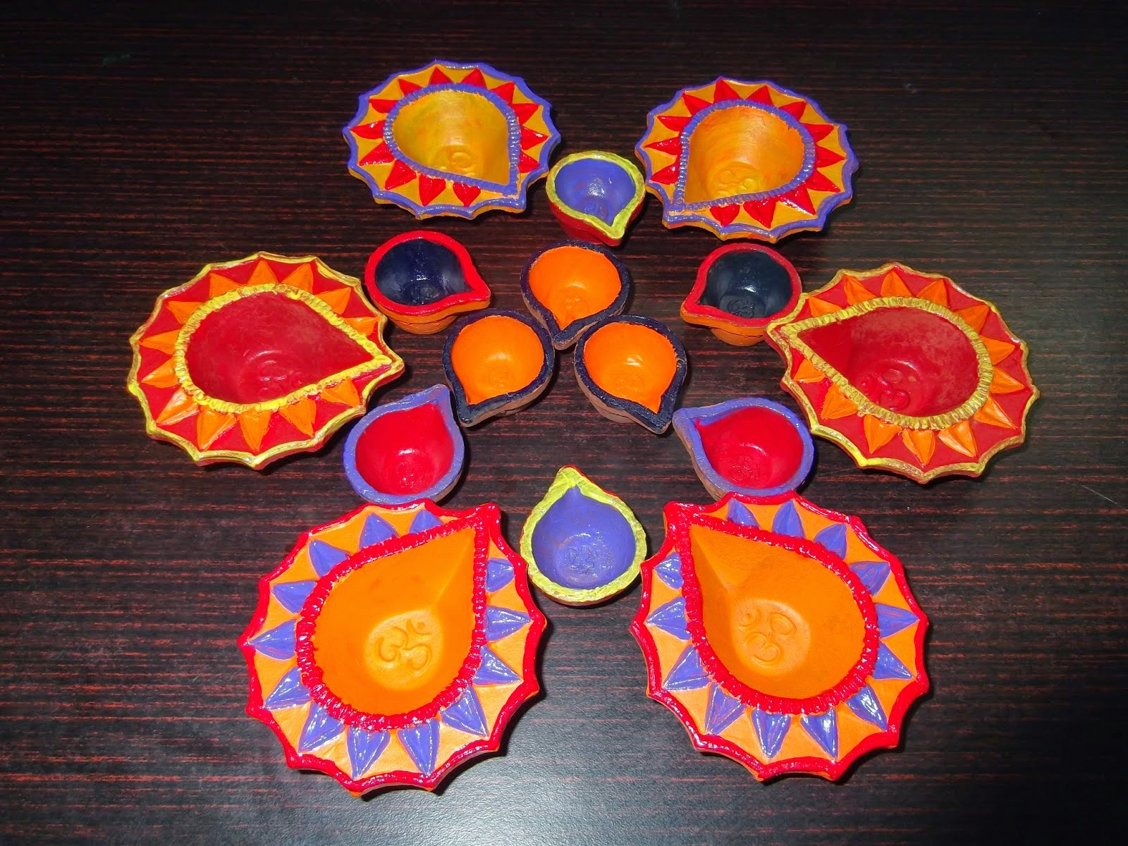 Diwali Diya Decoration Ideas Kids