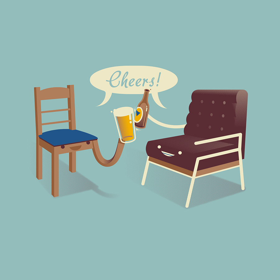 CHAIRS / BEERS : CHEERS! (VOTE AT THREADLESS)