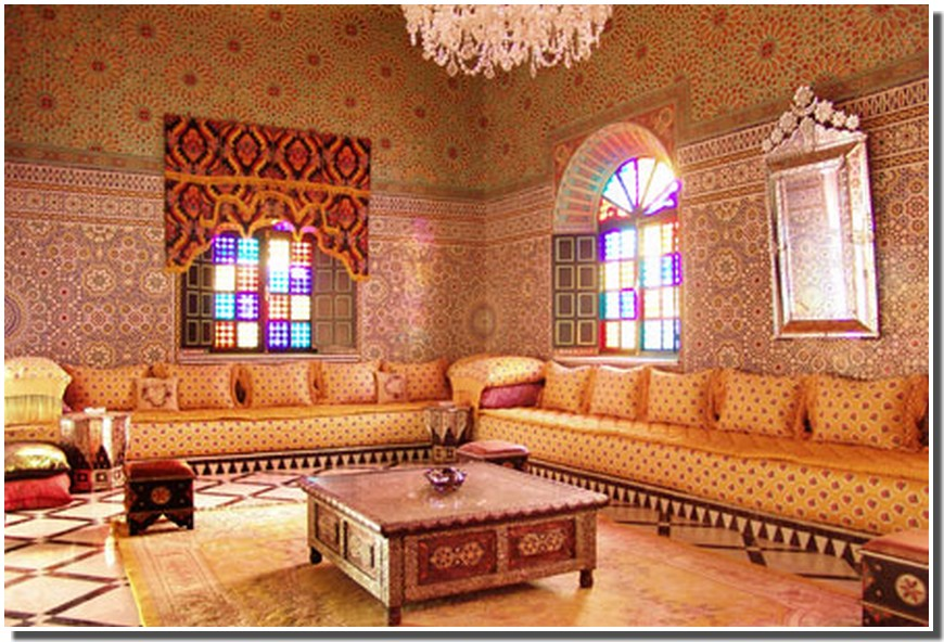 Nassima Home: Salon marocain traditionnel