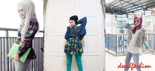 Funky Hijab Style Trend Jilbab Unik 2014