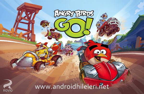 Angry Birds Go Full v1.4.0 Mod Apk Sınırsız Altın Hilesi İndir