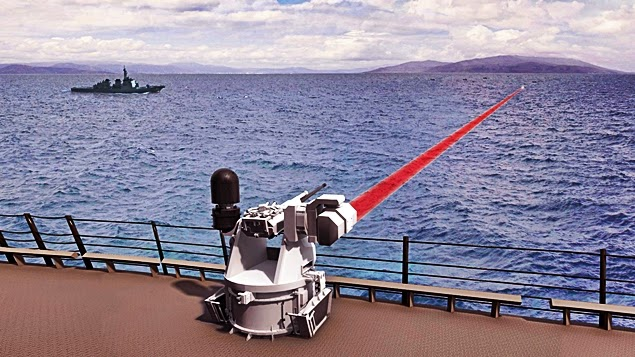 boeing laser weapon