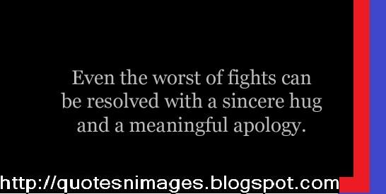 Quotes About Sincere Apology