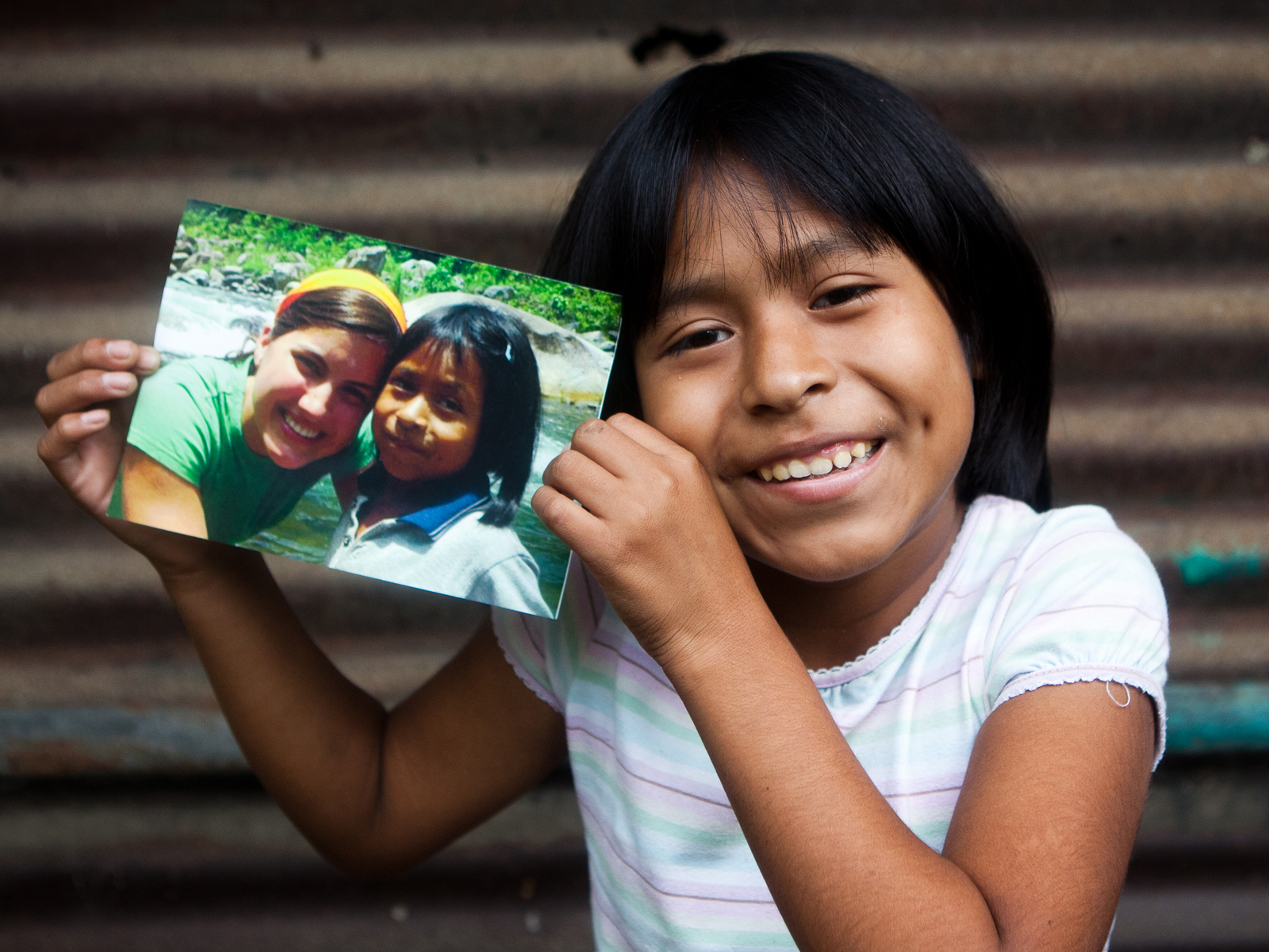Image of Compassion International child with sponsor
