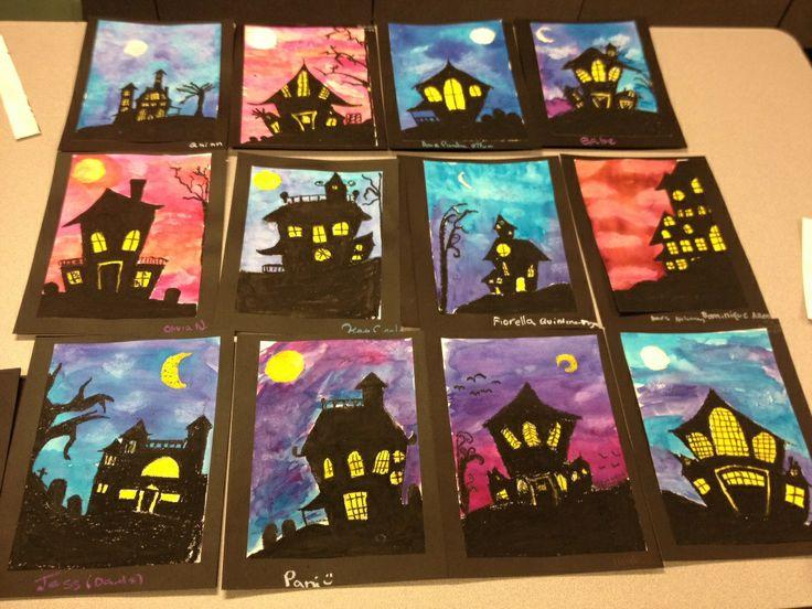 Halloween landscapes