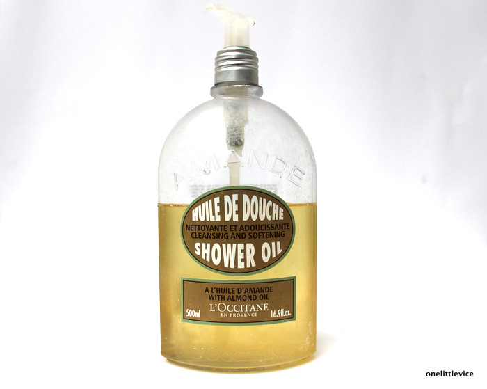 one little vice beauty blog: luxury shower oil perfect for shaving