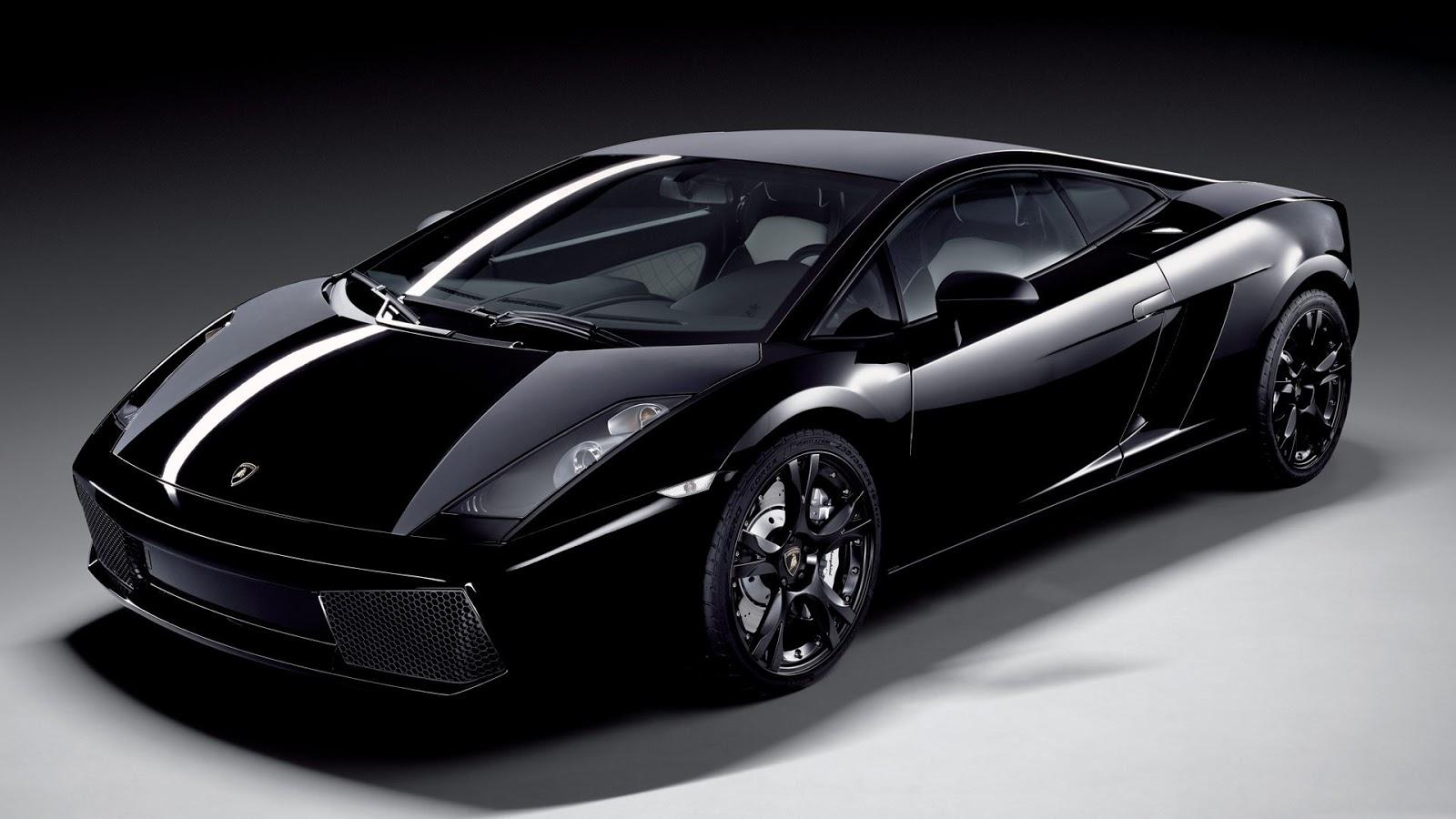 Lamborghini Gallardo Black Wallpaper