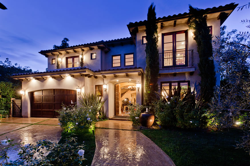 Silver sparkles and shine win a 2 2 million so cal dream for Pictures of dream homes