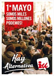 1º de Mayo 2013. Somos miles, somos millones. Hay Alternativa!