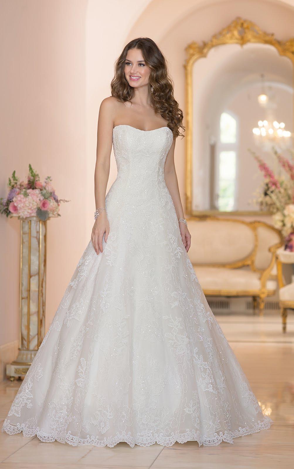 Brautkleid spitze ohne reifrock