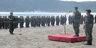 pasukan TNI untuk padamkan kebakaran