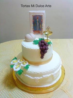 tortas de 2 pisos para comunion