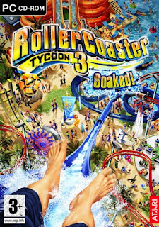 Roller Coaster Tycoon 3: Soaked! (cover)