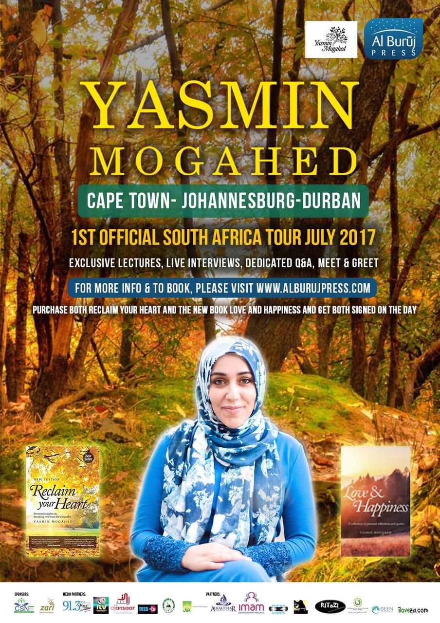 Yasmin Mogahed SA Tour