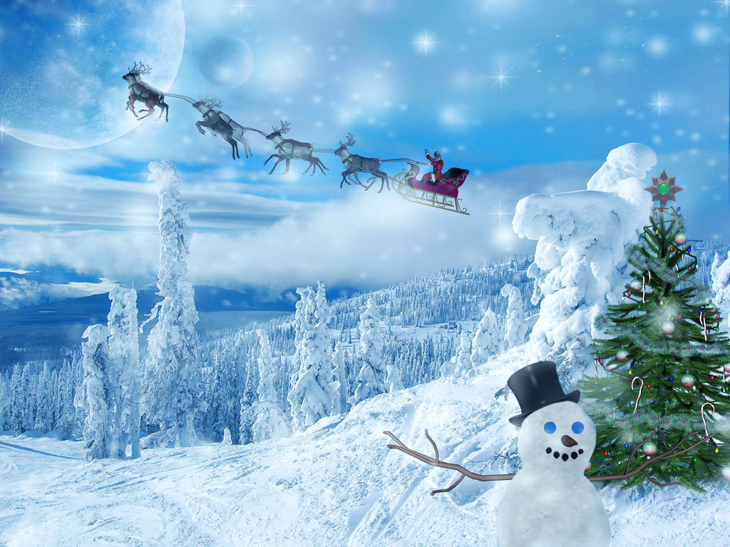 free christmas wallpapers  2010 christmas wallpapers