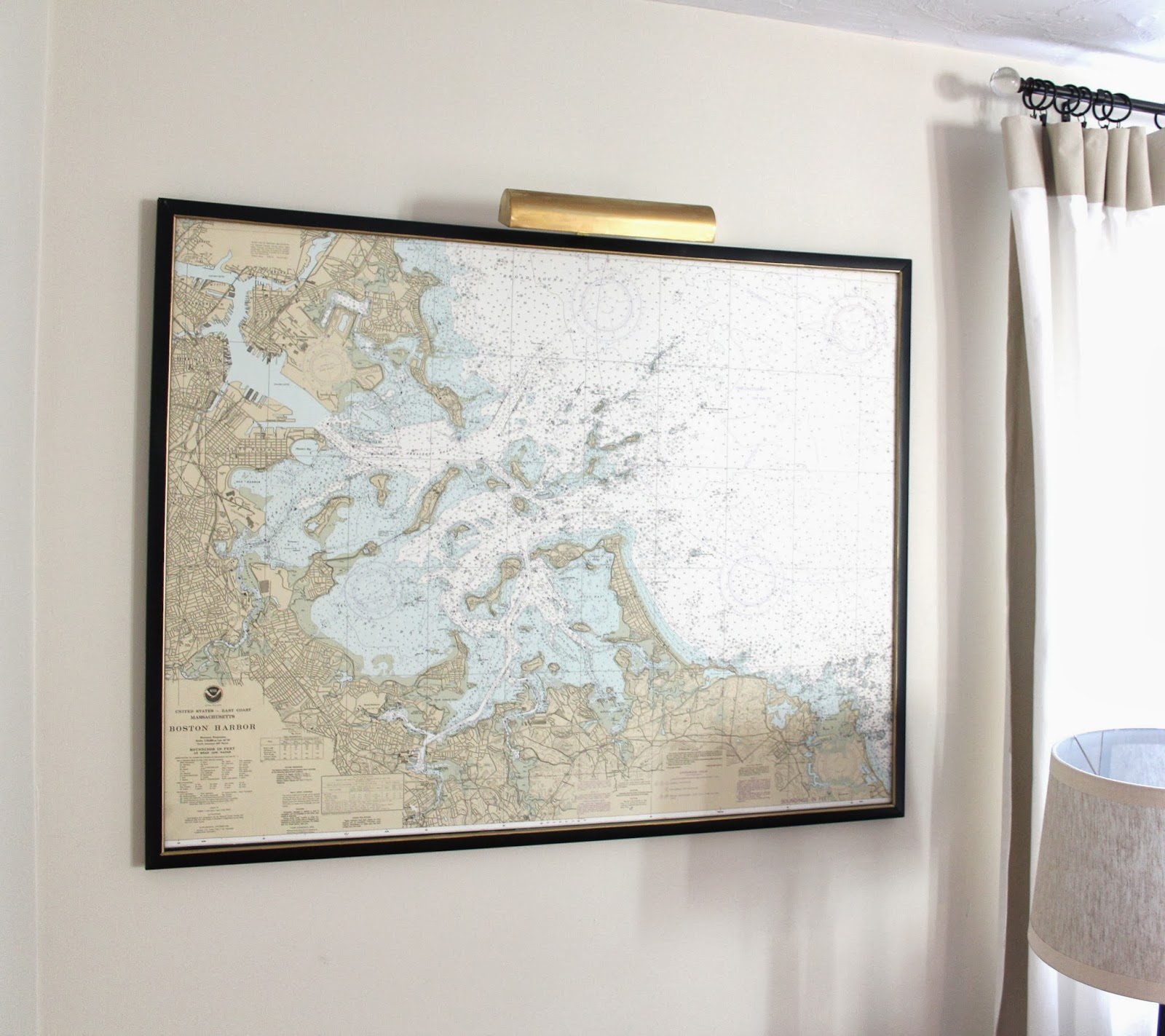 Orc how to mount and frame a large map shine your light solutioingenieria Choice Image