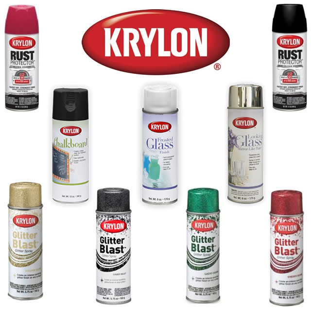 ginormous krylon giveaway the v spot. Black Bedroom Furniture Sets. Home Design Ideas