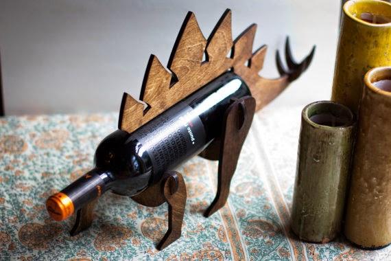 Brilliant boozy wedding gifts vinspire - Dinosaur wine holder ...
